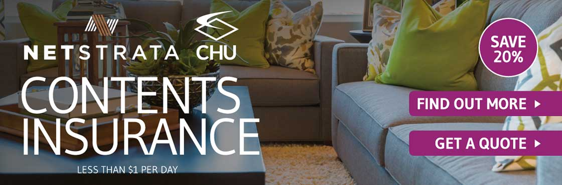 CHU contents insurance banner