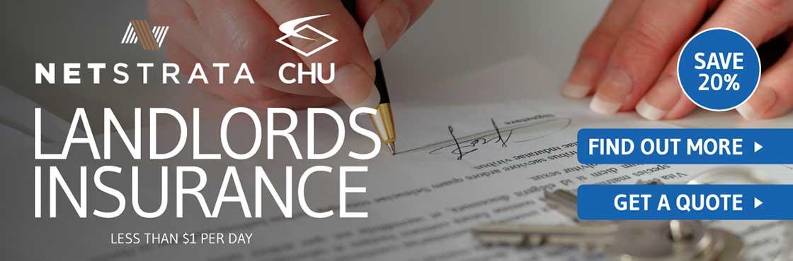 CHU landlords insurance banner