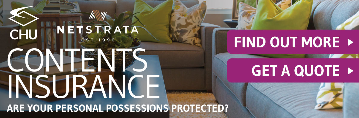 CHU contents insurance banner
