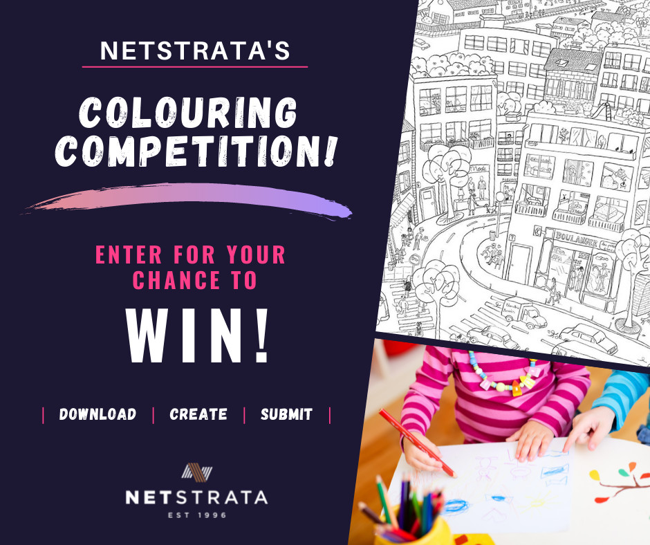 Colouring Competition ad