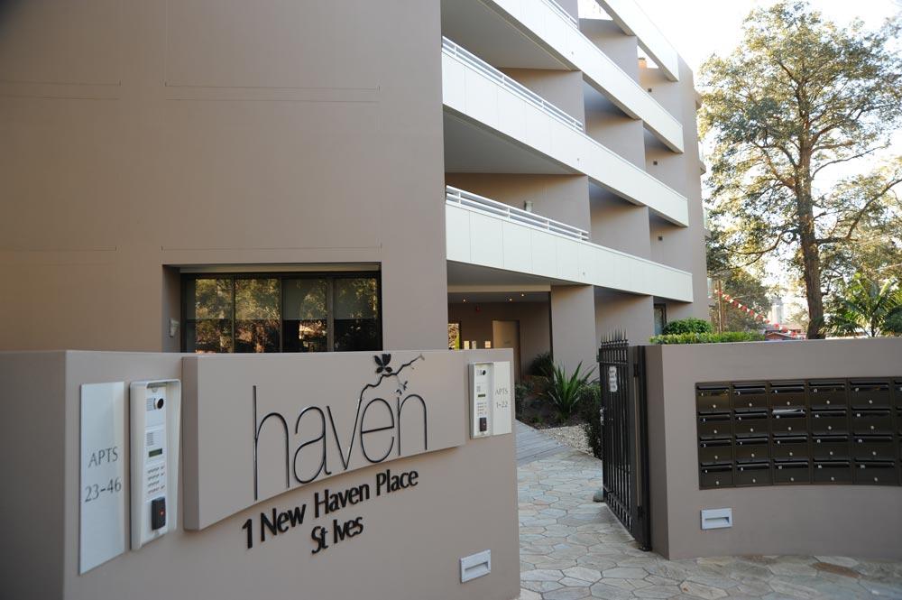 Haven entrance