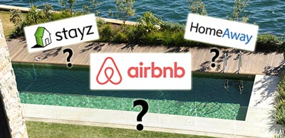 Airbnb and strata schemes common areas & pool