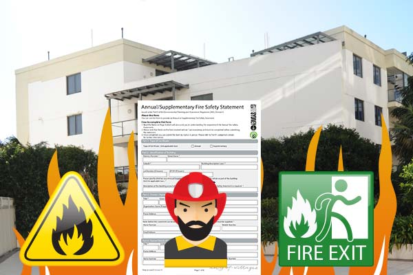 Annual fire safety statement