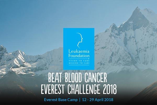Beat blood cancer - Everest Challenge 2018
