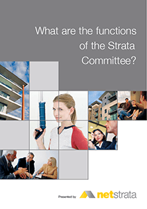 Functions of the Strata Committee
