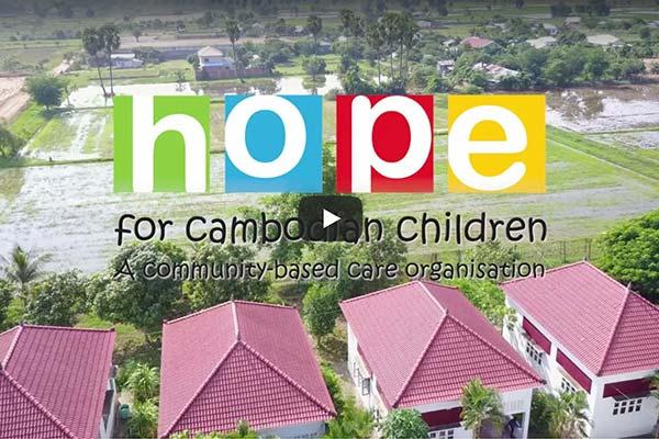 Hope For Cambodian Children poster frame