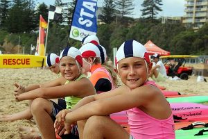 North Wollongong Surf Life Saving Club - Nippers on Beach
