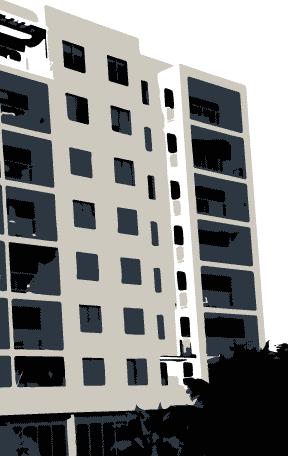Strata apartment building