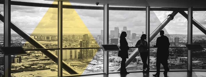 Strata managers with view
