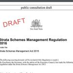 The Latest Strata Reform Proposals (2016)