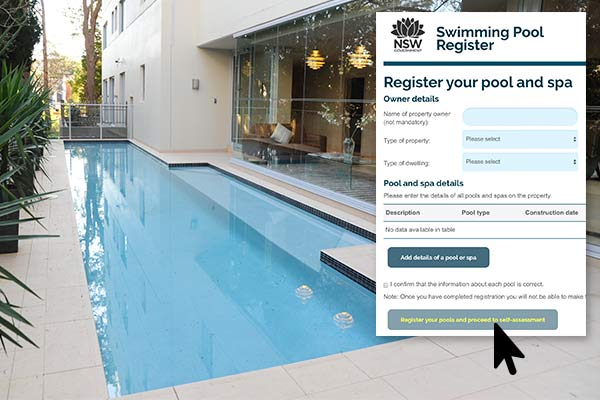 Swimming pool & regristration form