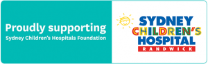 Proudly supporting Sydney Children's Hospital