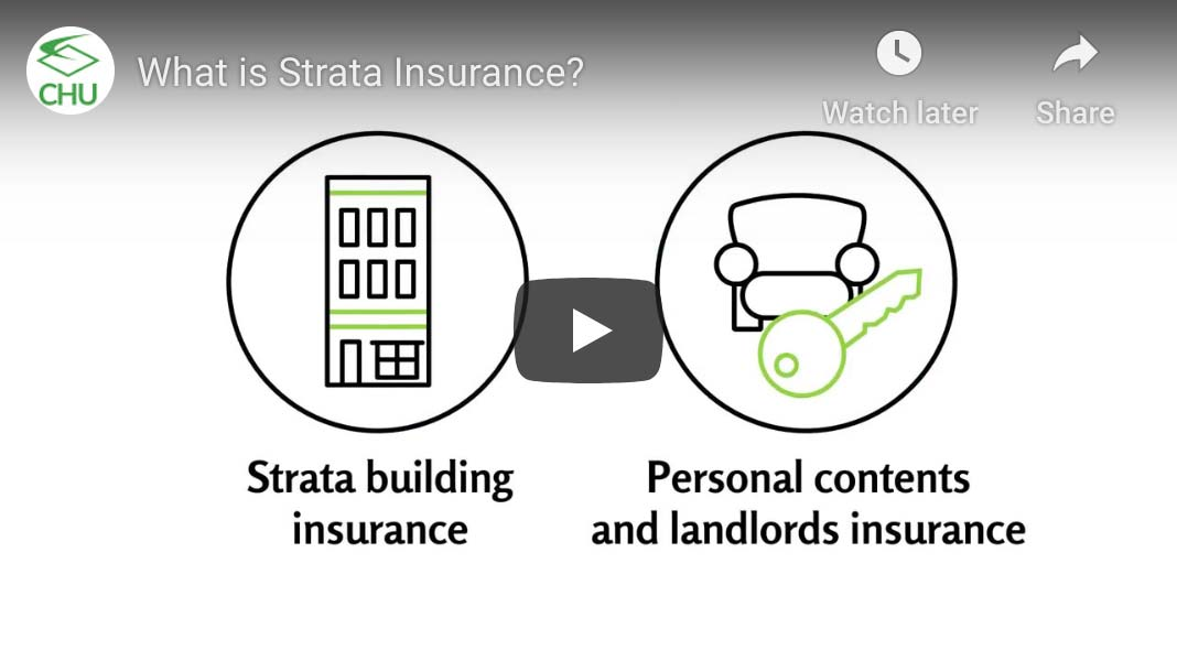 What is strata insurance video thumbnail